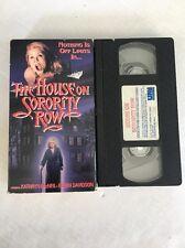 The House On Sorority Row VHS Tape 1991 Eileen Davidson