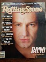 Rolling Stone Magazine issue 510 October 1987. Bono. Memorabilia.