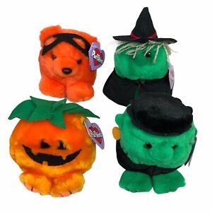 Vintage Puffkins Plush Lot Rare w/ Tags Halloween Holiday