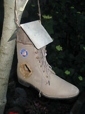 BIRDHOUSE For Home Or Garden Repurposed Real Boot Made In USA