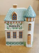 The Lenox Spice Village Fine Porcelain 1989 Collection Parsley