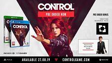 CONTROL Deluxe Edition Pre-Order Bonus DLC Key Code Xbox One XB1 XBONE