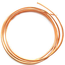 10 Gauge Dead Soft Round Solid Copper Jewelry Crafting Wire Q1 5 foot Coil
