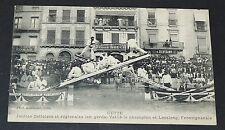 CPA 1910-1919 CETTE SETE JOUTES VAILLE ET LASALONG (FRONTIGNAN) EN GARDE