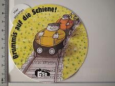 Aufkleber Sticker Transnet GdED Fern Schnell Gut Brummi Schiene Decal (3471)