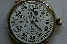 Omega Regulateur Mariage Armbanduhr mit Omega-Gehäuse und Omega-Kaliber 43.1