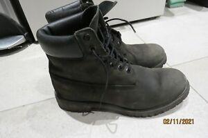 Black Timberland Size 10