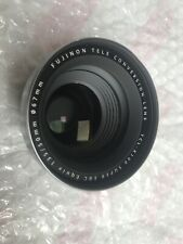 ++ MAKE OFFER ++ Fujifilm TCL-X100 Tele Conversion Lens - Silver Only