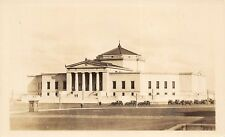 Chicago Illinois 1920-30s RPPC Real Photo Postcard John G. Shedd Aquarium