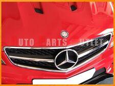 08-11 M-BENZ W204 C63AMG Sedan 4Dr Black Series Style Chrome/Black Front Grille
