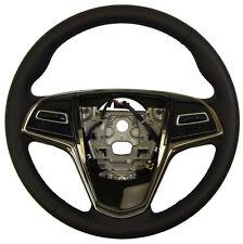 2013-2016 Cadillac ATS Steering Wheel Black Leather New OEM 23360205 23193050