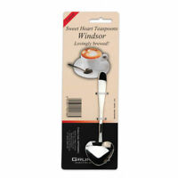 Windsor Heart Shaped Teaspoons Pack 4