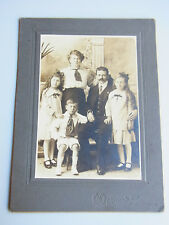 Hartpappen Foto Carriere & Cie., MONTREAL: Familie BAUMGART, 19 x 14 cm