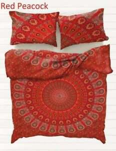 Duvet Cover Set Indian Mandala Bedding Set Bohemian Quilt Cover Hippie Comforter