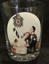 Vintage Norman Rockwell Saturday Evening Post Drinking Glasses Set of 6