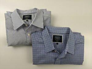 2 Business Shirt bundle - Charles Tyrwhitt  Classic Fit Non-iron Shirts LG BNWOT