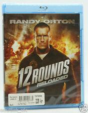 12 Rondas 2: Reloaded Blu-ray Región B Nuevo Sellado Wwe Randy orton