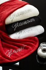 Diamante Glamour Towels, Designer 100% Cotton Soft Towel By Catherine Lansfield