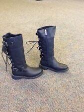 52fe18000423 Harley-Davidson Women s Black Leather Riding Boots - Alexa Size 5.5
