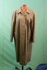 Orig Burberry Mantel Trenchcoat Gr ca 44/L olive-braun 100% Cotton England Burbe