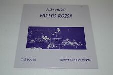 Miklos Rozsa~Film Music~The Power~Sodom and Gomorrah~FAST SHIPPING!