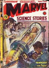 Marvel Science Stories 14 Issues Scarce 1930s Pulps Free Shipping