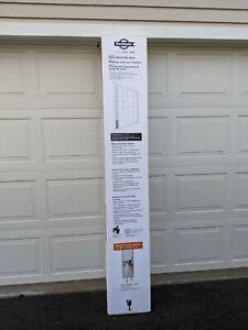 NEW Patio Pet Door Panel Cat Dog Frame  for Sliding Doors Up to 81 in.