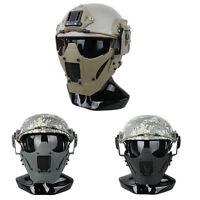 Tactical JAY FAST Module PDW MESH Mask Half Face Mask Fit AF Helmet