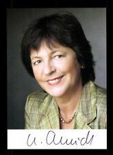 Ursula Schmidt AUTOGRAFO MAPPA ORIGINALE FIRMATO # BC 99143