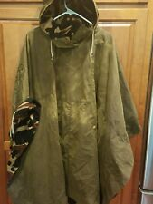 NWT Barbour Gold Label Fern CAPE Brown Distressed Womens Waterproof Camo Sz 6