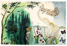 The Four Seasons II by Salvador Dali A3 Art Print