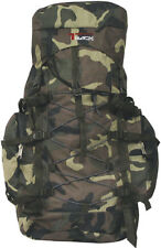 Camo Rucksack Internal Frame Camping Hiking Backpack Mountaineering bag 3600cc