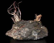 "2.7"" Acanthite Matrix w/Thick Ropy SILVER WIRES to 1.5"" Imiter Morocco for sale"