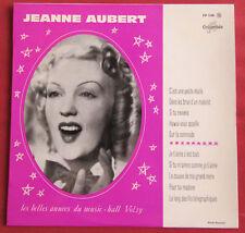 "JEANNE AUBERT   25 CM 10"" LES BELLES ANNEES DU MUSIC HALL 19"