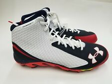 New Mens Under Armour Spine Cleats High Top Clutch Fit Sz 15 New