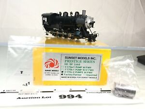 Lot994 Sunset Models HO Scale Brass Southern Pacific 2-8-0  No Tender 2 Rail