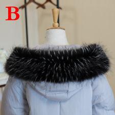 Winter Women Faux Fur Collar For Coat Down Jacket Hood Hat Scarf Accessory NEW