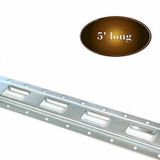 5' E Track Rail Vertical Cargo TieDown for Truck/Trailer/Van, Zinc Coat Steel