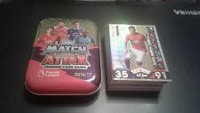 Match Attax 2016/17 Mini Estaño + 50 Tarjetas + Oro Edición Limitada Anthony Marcial