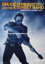 BRUCE SPRINGSTEEN WORKING ON A DREAM USA TOUR POSTER 2009 ORIGINAL 1ST PRINTING
