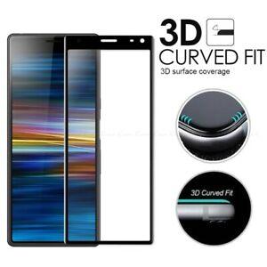 Sony Xperia 1 / 5 / 10 i ii iii 3D Full Cover Tempered Glass Screen Protector