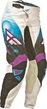Fly Racing MX BMX motocross pants youth girl female siz 20 blue purple 367-63900