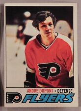 1977 Topps Andre Dupont Flyers #164 Hockey Card ex