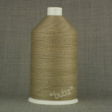 40/'S BONDED NYLON SEWING THREAD MID BROWN 406 LARGE 3000MTR UNICORD BRAND