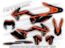 NitroMX Grafik fur KTM EXC EXC-F 125 250 300 350 450 2014 2015 2016 Enduro Dekor