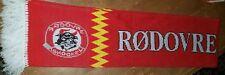 Rødovre Skøjte Ishockey Mighty Bulls Hockey Scarf Denmark Danish Red Rodovre
