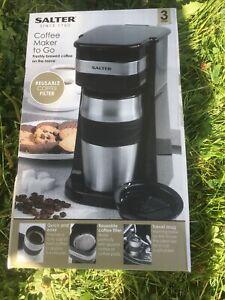 Salter® EK2408 Coffee Maker to Go Personal Filter Coffee Machine, 420 ml, 700 W