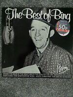 Bing Crosby – The Best Of Bing MCL 1607 Vinyl, LP, Compilation