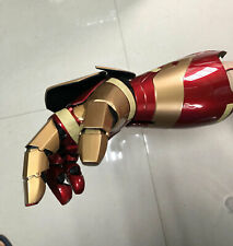Wearable 1:1 Right Hand Armor Arm LED Palm Iron Man MK XLII 42 Prop The Avengers
