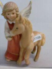+# A017039 Goebel Archiv Muster Engel Angel füttert Fohlen Foal Pferd 41-298